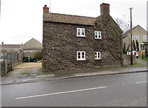 ST6976 : Four windows, Shortwood Road,  Pucklechurch by Jaggery