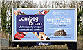 J2765 : Lambeg drum poster, Lambeg/Hilden (March 2016) by Albert Bridge