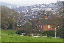 SU9849 : View from Stag Hill, Guildford by Alan Hunt