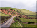 NY6724 : Landslip near to Long Marton by Trevor Littlewood