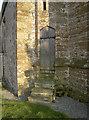 ST5959 : Smaller door for smaller congregations by Neil Owen