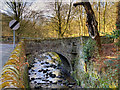 SD6811 : Barrow Bridge, Dean Brook by David Dixon