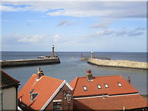 NZ8911 : The Harbour mouth, Whitby by Jonathan Thacker
