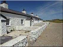 SH3862 : Pilot's Cottages, Llanddwyn by Eirian Evans