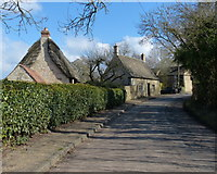 SP9599 : The Main Street in Wakerley by Mat Fascione