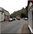 SO6015 : From the Old Post  Office to the current Post Office,   Central Lydbrook by Jaggery