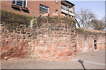 SJ4065 : The Drum Tower, Chester City Walls by Jeff Buck