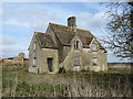 SU1197 : Derelict farm cottages, nos. 66 & 67 Castle Hill Farm by Vieve Forward