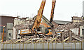 J3374 : The Orpheus Building (demolition), Belfast - March 2016(1) by Albert Bridge