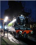 NZ8204 : The Flying Scotsman at Grosmont Sheds by DS Pugh