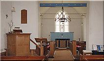 TL9919 : St Andrew, Abberton - East end by John Salmon