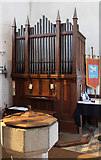 TL9919 : St Andrew, Abberton - Organ by John Salmon