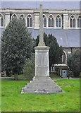 TQ1649 : War Memorial, St Martin's Church by N Chadwick