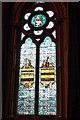 NZ4920 : The Music Window, in memory of Felix Corbett, organist from 1899-1939 by Mick Garratt