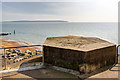 SZ2891 : WWII coastal defences of SW Hampshire today - Milford-on-Sea pillbox (1) by Mike Searle