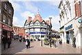 SJ3350 : Hope Street, Wrexham by Jeff Buck