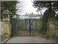 SJ3385 : Gateway in Highfield South by John S Turner