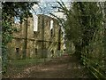 SE3651 : Rear of Spofforth Castle by Stephen Craven