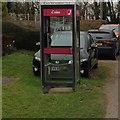 TL1560 : Duloe Phone Box by Dave Thompson