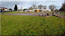 ST3091 : South side of Malpas Park Primary School, Newport by Jaggery