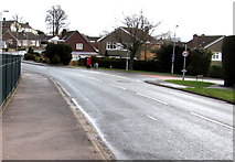 ST3091 : Almond Drive towards Rowan Way, Malpas, Newport by Jaggery
