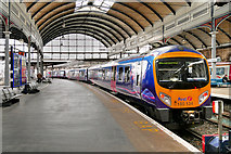 NZ2463 : First TransPennine Express Train at Newcastle Central Station by David Dixon