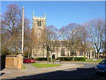 SK5319 : Loughborough parish church by Robin Webster