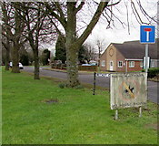 ST6976 : No Horse Riding sign, Pucklechurch by Jaggery