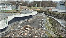 J3674 : Connswater path works, Belfast - March 2016(2) by Albert Bridge