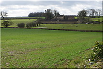 ST7881 : Damp fields looking towards Newhouse Farm by Philip Jeffrey