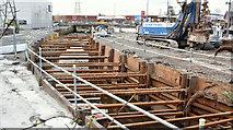 J3674 : Connswater works, Belfast - March 2016(2) by Albert Bridge