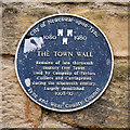 NZ2464 : Newcastle Town Wall Plaque by David Dixon