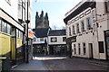 SJ3350 : Abbot Street, Wrexham by Jeff Buck