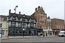 TQ3296 : Enfield Town:  The 'George' by Dr Neil Clifton