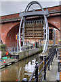 NZ2664 : Lock at the Mouth of the Ouseburn by David Dixon