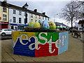 H2684 : Big Easter eggs, Castlederg by Kenneth  Allen