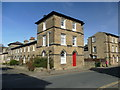 SE1337 : Saltaire terraced houses by Graham Hogg