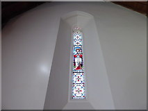 SU3477 : St James, Eastbury: stained glass window (e) by Basher Eyre