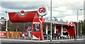 J3475 : Pay-at-pump petrol station, York Street, Belfast (March 2016) by Albert Bridge