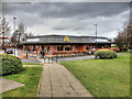 NZ2663 : McDonald's Restaurant Gateshead (Shearlegs Road) by David Dixon