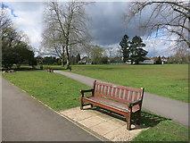 TQ1787 : Capital Ring in Preston Park by Des Blenkinsopp