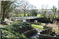 NX5956 : Footbridge over Water of Fleet by Billy McCrorie