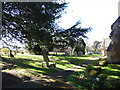 SP0447 : St Egwin, Norton and Lenchwick: churchyard (a) by Basher Eyre