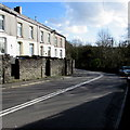 ST0996 : Bend in the A4054, Treharris by Jaggery