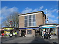 TQ1187 : Eastcote tube station - entrance buildings by Mike Quinn