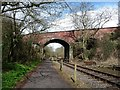ST6670 : Cherry Garden Lane bridge, Willsbridge by Christine Johnstone
