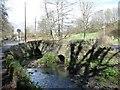 ST6671 : Bridge over Siston Brook by Christine Johnstone