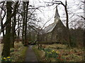 NY4577 : Church of St. Nicholas, Nicholforest by Jonathan Thacker