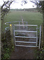 ST6063 : This way to Bymills Farm by Neil Owen