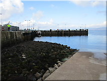 NS2059 : Pier and slipway, Largs by Jonathan Thacker
